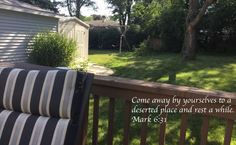 The Sixteenth Sunday of Ordinary Time: Come and Rest a While