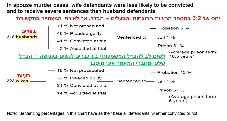 הבדל אפליה בשיפוט כתבי אישום וענישה בין גברים לנשים - 1995 ארהב
