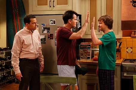 Season Premier of Two and a Half Men