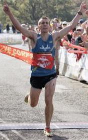 Jacob Bradorsky Wins 2010 Marine Corps Marathon