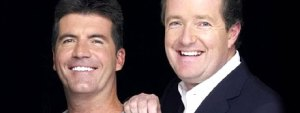 Simon Cowell and Piers Morgan