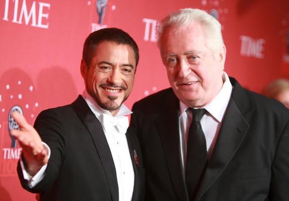Robert Downey, Jr. and dad.