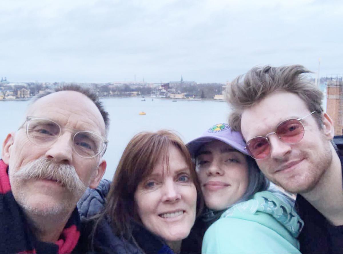 Billie Eilish family