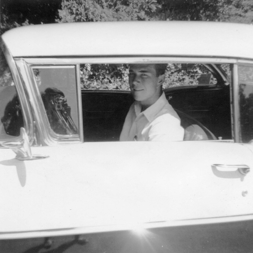 Me in My Original '55 Olds