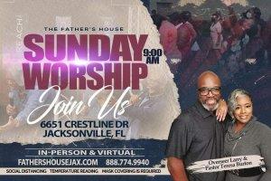 Sunday Worship Service @ Sunday Worship Location