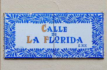 Colonial Style Street Plate