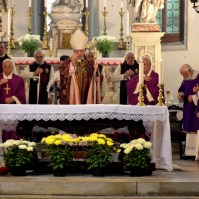Commemorazione dei Fedeli Defunti a Venezia con il Patriarca Francesco Moraglia, Araldi del Vangelo-020