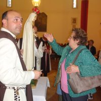 Messa di azione di grazia per il centenario delle apparizioni della Madonna a Fatima a Oriago (VE)-018