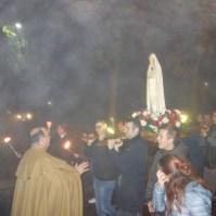 La statua della Madonna di Fatima a Venaria Reale (TO) , Araldi del Vangelo-037