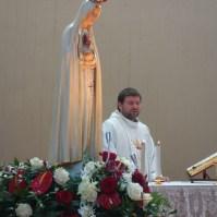 La statua della Madonna di Fatima a Venaria Reale (TO) , Araldi del Vangelo-042