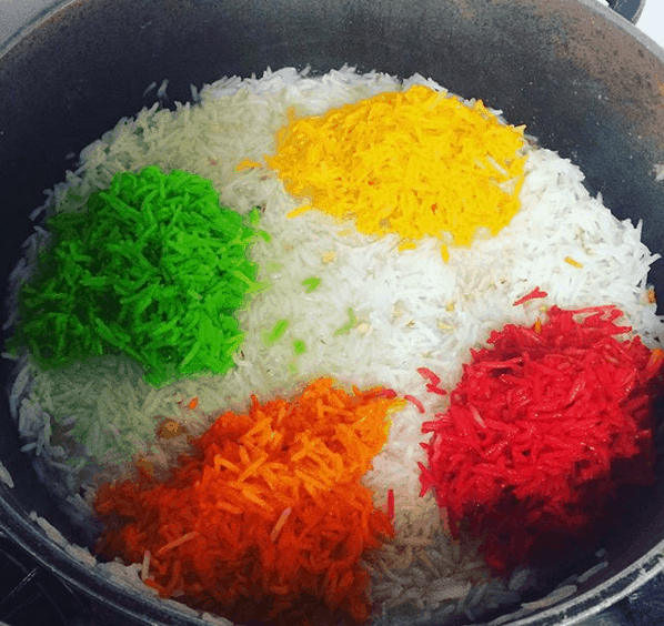 Mutanjan - Sweet and Colourful Pakistani Rice - Meethe Chawal
