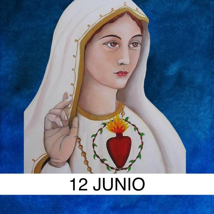 12 JUNIO INMACULADO CORAZON DE MARIA