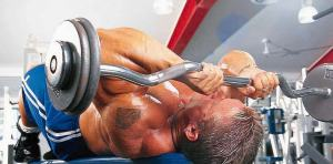 004 Triceps Lee Priest LYING FRENCH PRESS
