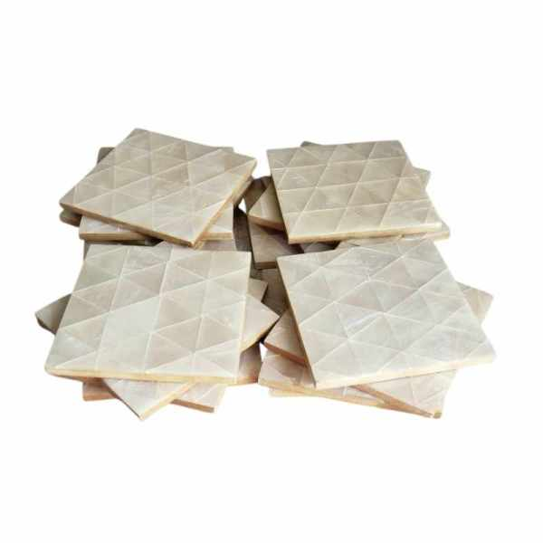 mother of pearl tea coaster