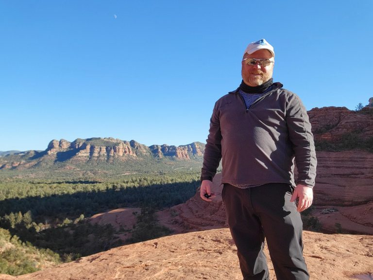 Earlier in the year when I was a more of Fitman in Arizona before gaining my way back to the Fatman.