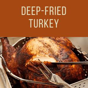Thanksgiving Deep Fried Turkey To Go