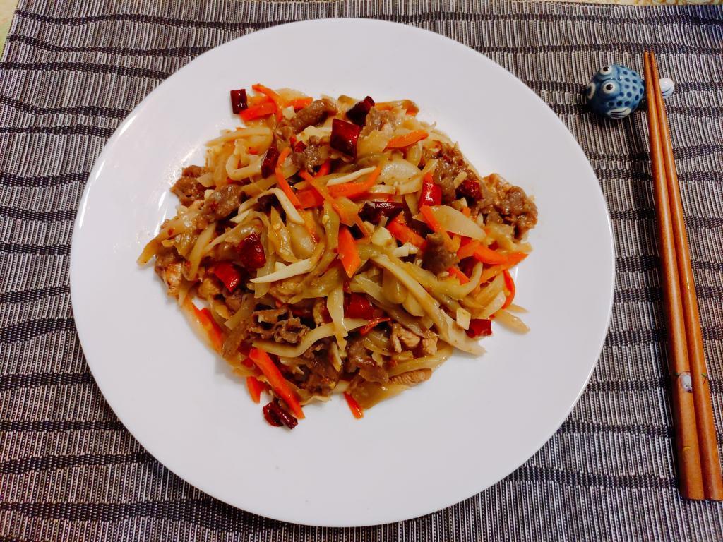 榨菜炒牛肉食譜