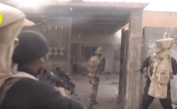 Confronto entre Exército Iraquiano e Estado Islâmico na retomada da cidade de Ramadi no Iraque