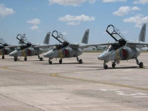IA-63 Pampa da VI Brigada da FAA.