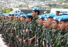 tropas brasileiras em missão de paz