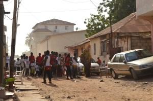 Hunting i Banjul Foto: Fatou Touray, Afropé
