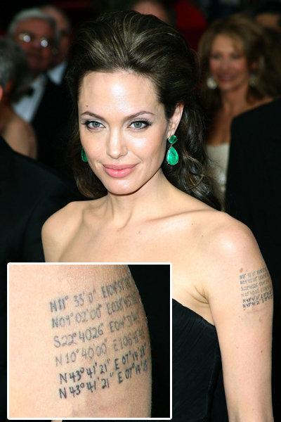 12 Best Celebrity Tattoos | fatsaloon