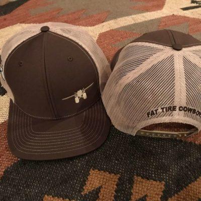 Fat Tire Cowboys Brown Trucker Cap