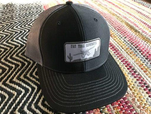 Fat Tire Cowboys Black Trucker Cap