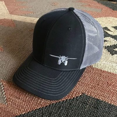 LaRosa's Black Trucker Cap