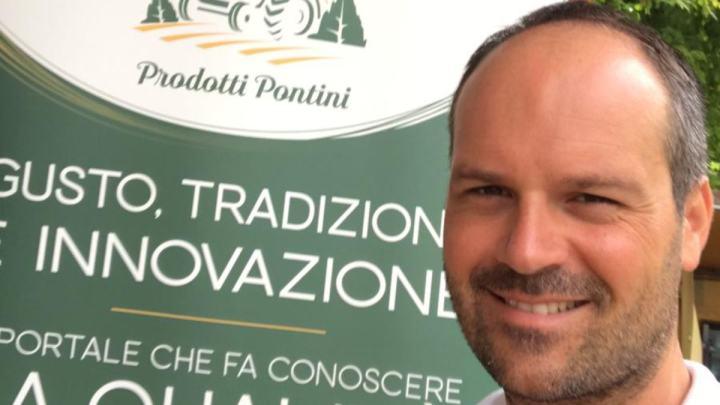 Fabrizio Brunello fa rinascere i Prodotti Pontini in un clic
