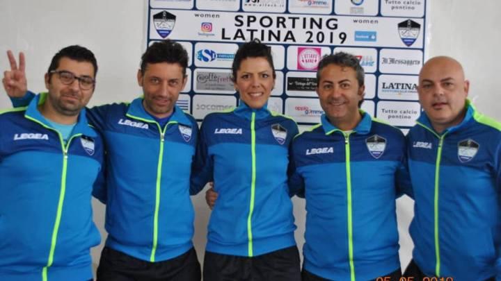 Donne e calcio, ecco la ASD Sporting Latina 2019 Women
