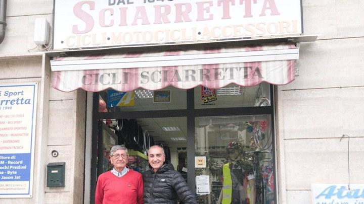 Cicli Sport Sciarretta, la storia di Cisterna su due ruote