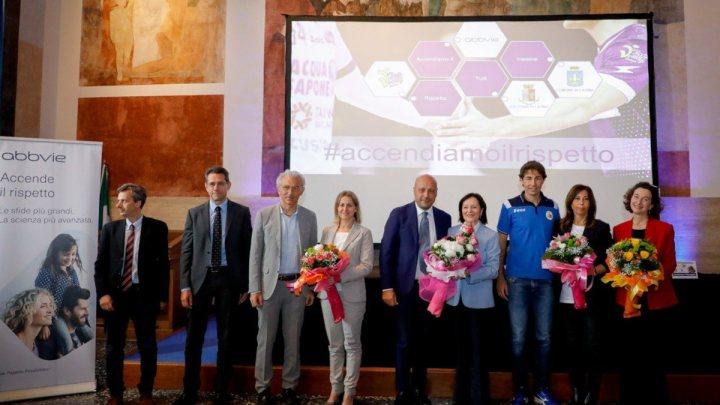 #Accendiamoilrispetto, Top Volley Latina e Abbvie ancora insieme