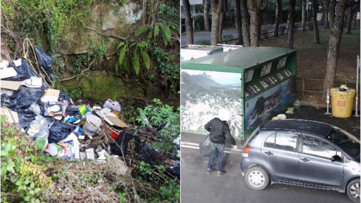 """Lotta ai """"furbetti"""" dei rifiuti: fototrappole e non solo"""