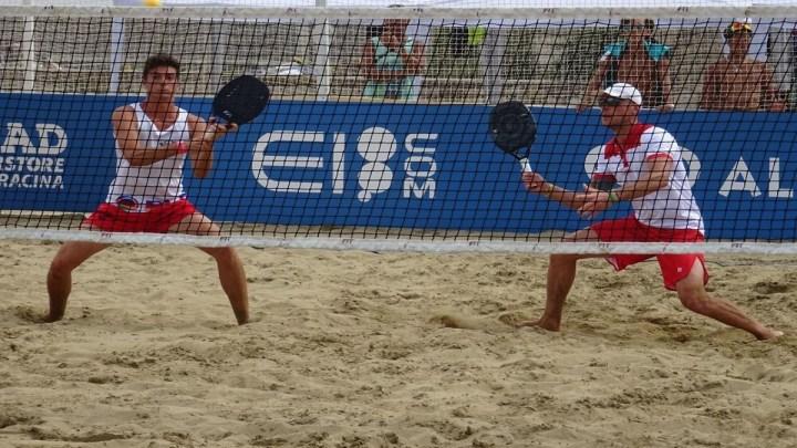 Simone Perroni e il beach tennis: come è arrivato al mondiale