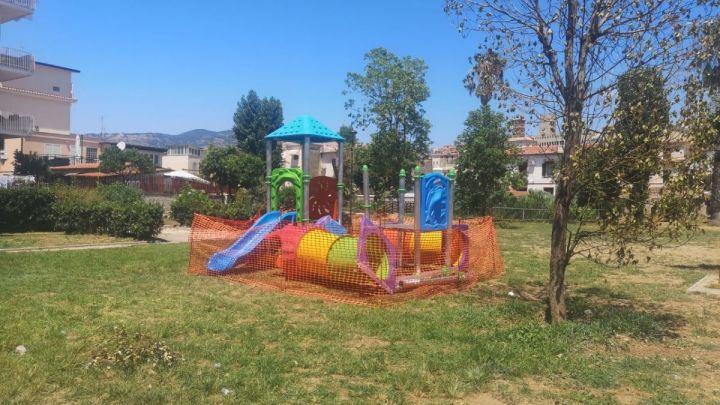 Terracina, al parco Area Chezzi arrivano nuovi giochi