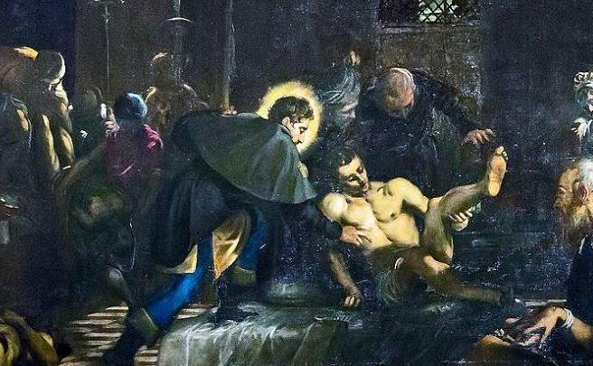 Chi uria viva San Rocco e chi si magna le ciammelle (chi grida al santo e chi dietro fa il suo tornaconto)