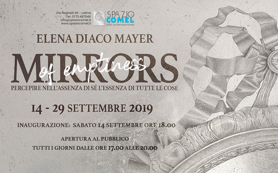 """Latina, Elena Diaco Mayer con la sua mostra """"Mirrors of Emptiness"""""""