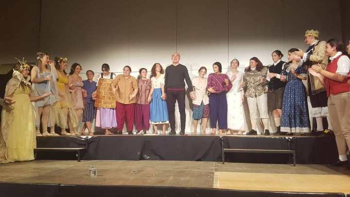 Gli studenti di Sezze attori di successo in Germania