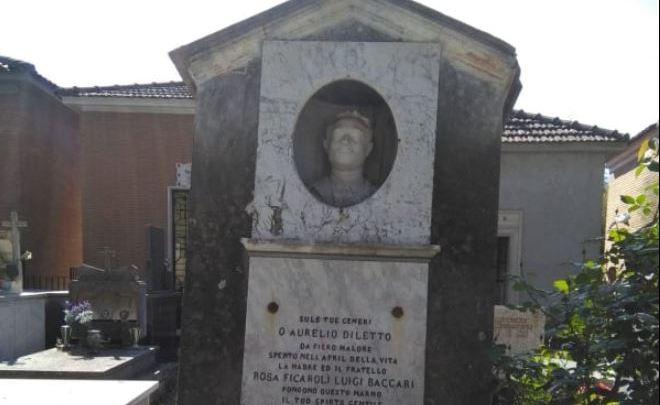 """Sezze dove """"adottano"""" le tombe, la storia dell'incredibile amore per Aurelio (1892)"""