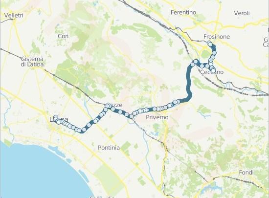 """Latina e l'erbavoglio: l'""""autostrada"""" tra Sezze scalo e Frosinone"""