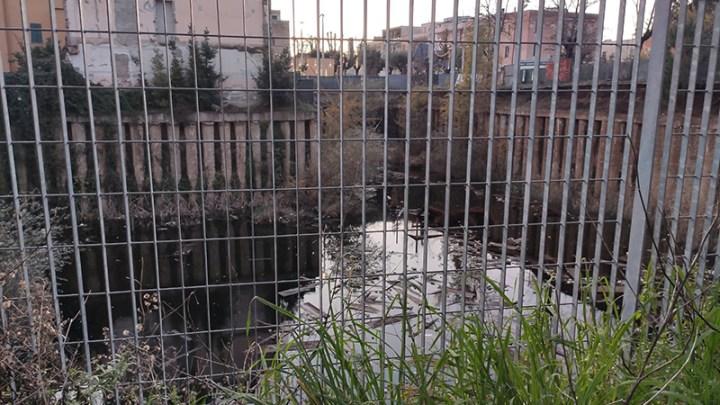 Cisterna, scoperto nuovo lago al centro della città