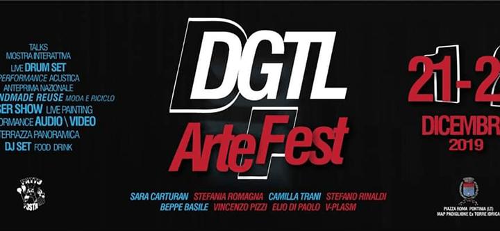Pontinia, arriva la prima edizione del DGTL ArteFest