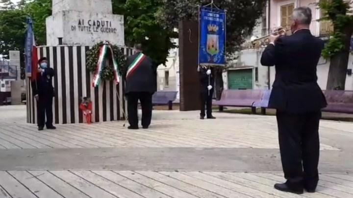 Cisterna, i festeggiamenti per la Festa della Liberazione