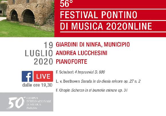 Festival Pontino e Giardino di Ninfa, la bellezza si unisce e va in streaming
