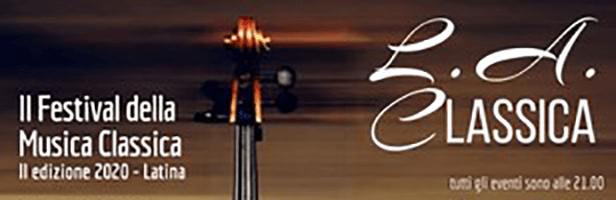 Latina, si riparte con la musica/2: L.A. Classica Festival