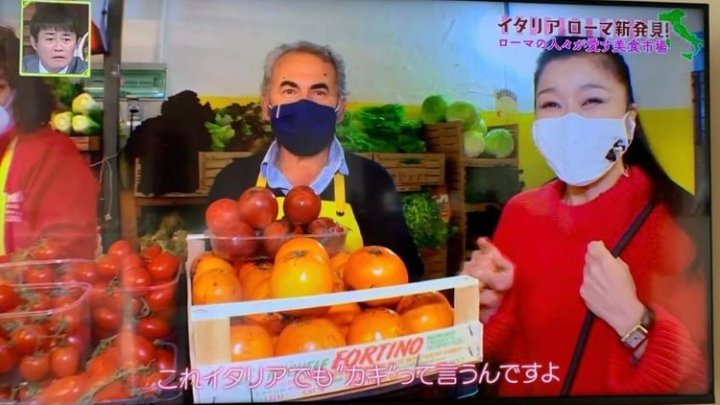 """Ascenzo Bottoni """"presenta"""" l'orto setino alla tv giapponese"""