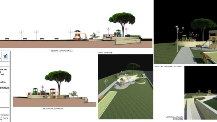 ATER Latina: parte il progetto del parco attrezzato in Viale Nervi