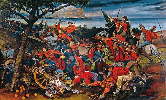 Il coltello del 25 aprile ed il colore delle camicie