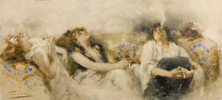 La fumeria d'oppio